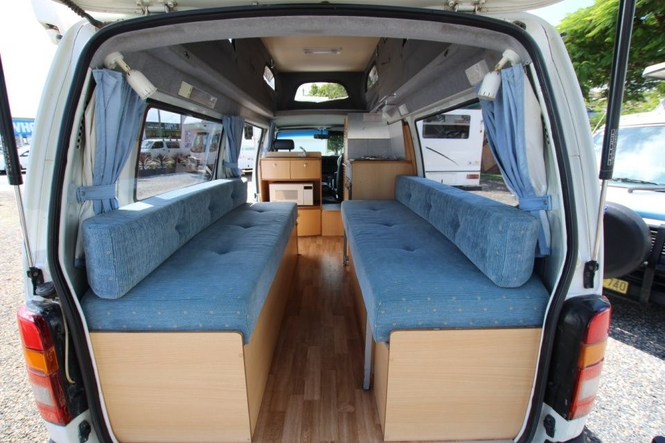 Sunliner Toyota Hiace Twin Bed Camper Automatic Toyota