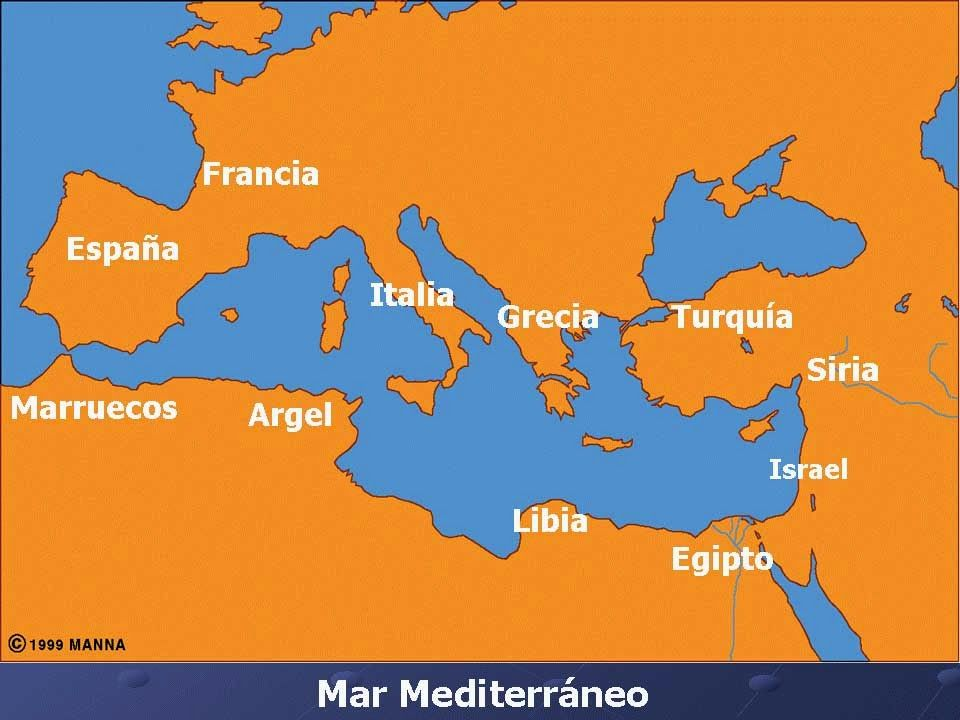 Mapa Del Mar Mediterraneo.Resultado De Imagen De Mapa Mar Mediterraneo Marruecos