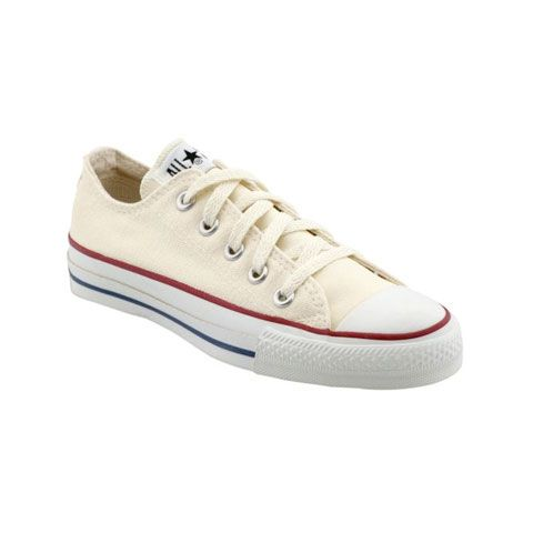 43cc5a4faa4c ivory or white sneakers. converse