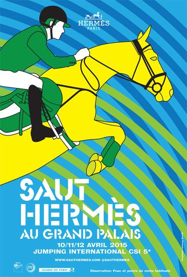 Le Saut Hermès 2015 | A master in made-in-France leather goods, Hermès first made its name in saddlery, a craft which remains an integral part of the house today.
