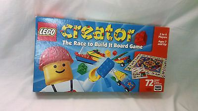 Lego Creator The Race To Build It Board Game Not Complete Wishlist