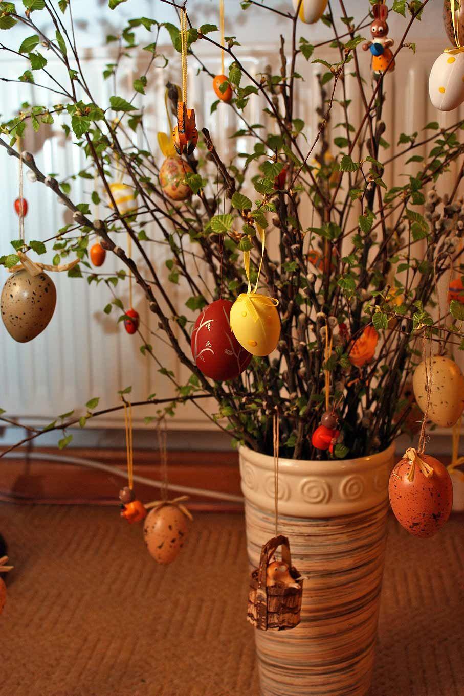 Spanish page about German Easter trees (El blog de la ...
