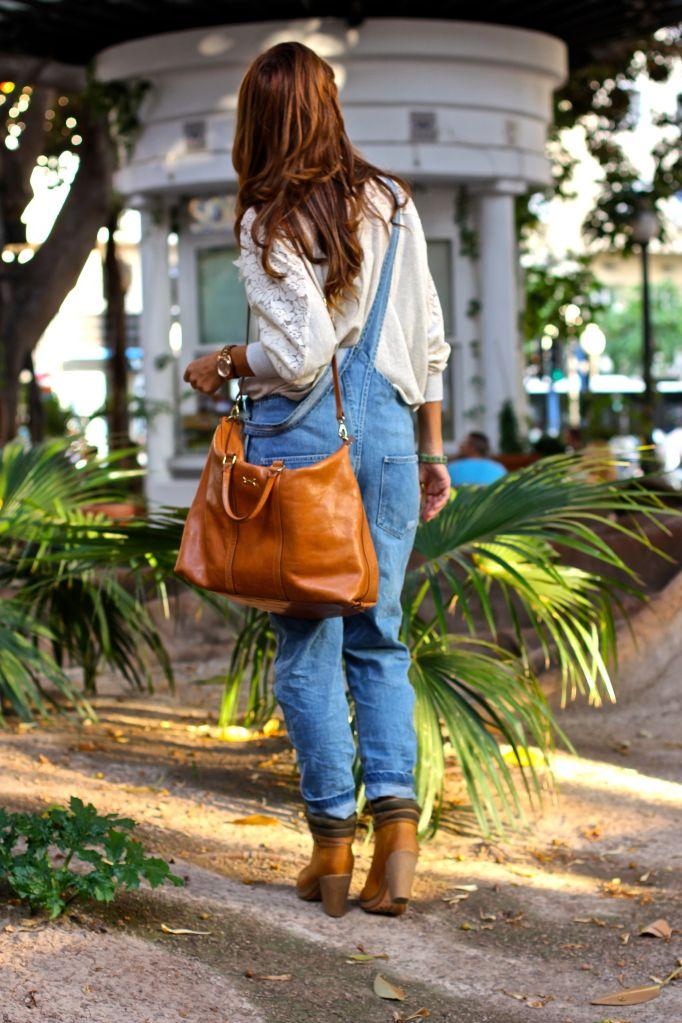 Eu quero este macacão jeans!!!