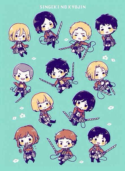 Shingeki No Kyojin Attack On Titan Wallpaper Attack On Titan Funny Attack On Titan Chibi