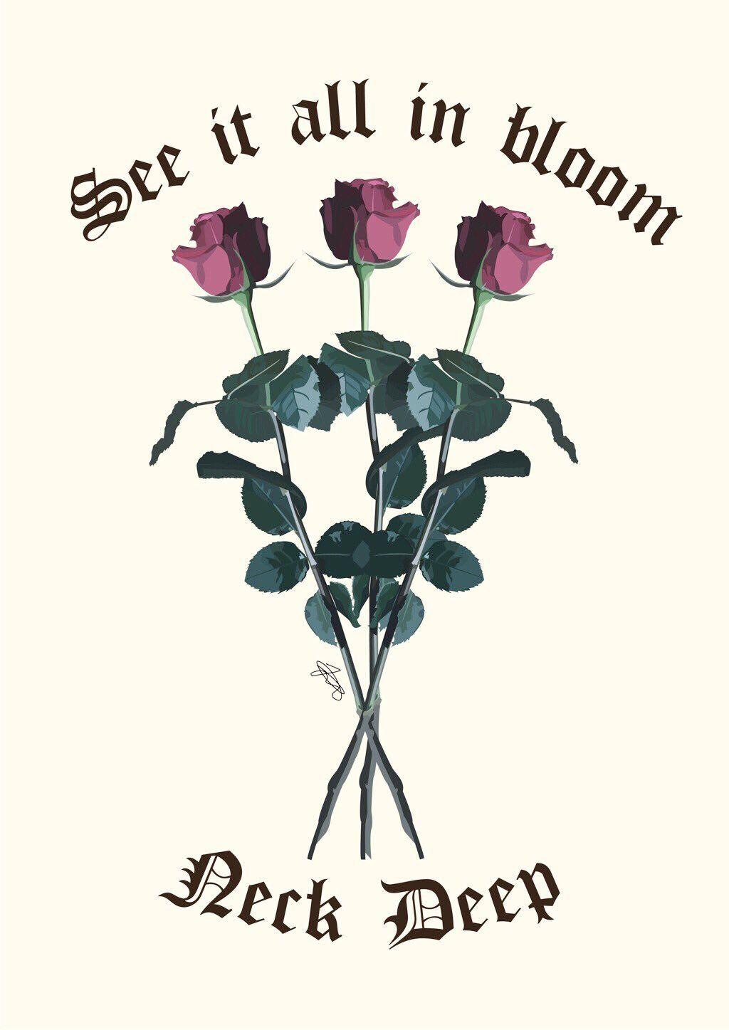Neck Deep - In Bloom | Neck deep lyrics, Pop punk lyrics, Blink 182 lyrics