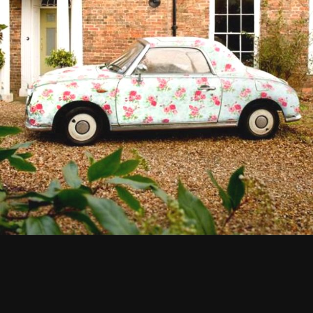 Me In Car Form... Floral Figaro!