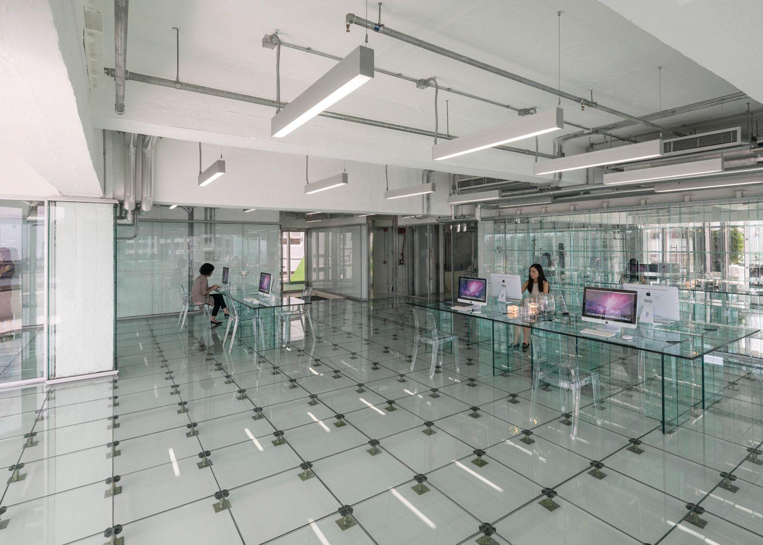 Hong Kong Office Space MVRDV Creates Transparent Interior ...