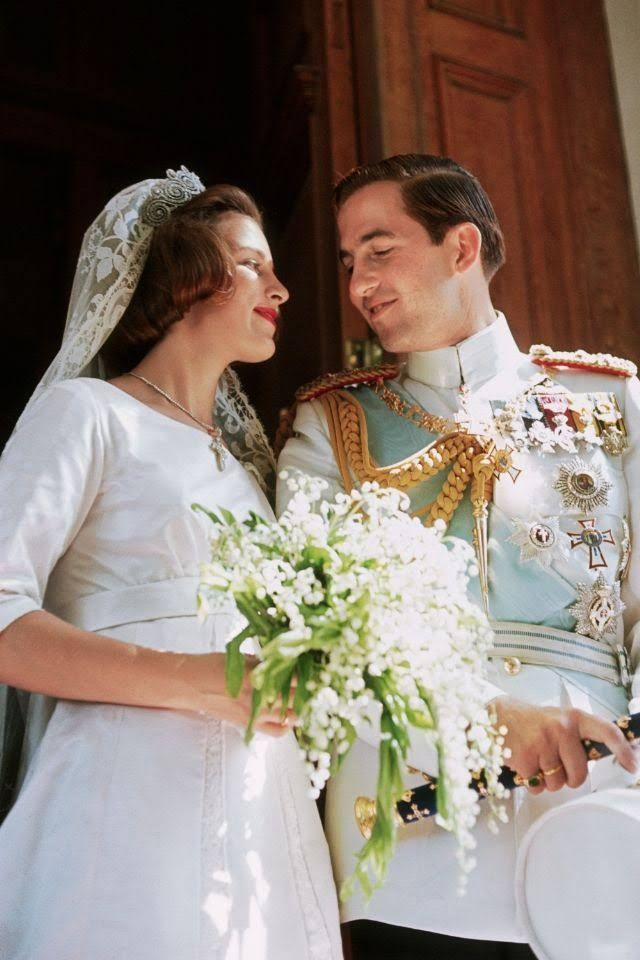 King Constantine and Queen Anne Marie of Greece | Greek Royalty ...