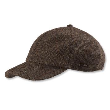 bfe044062 Vintage Tweed Baseball Cap / Scottish Harris Tweed Ball Cap -- Orvis ...
