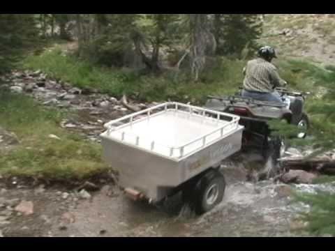 800 AL ATV Wagon adventure atv trailer
