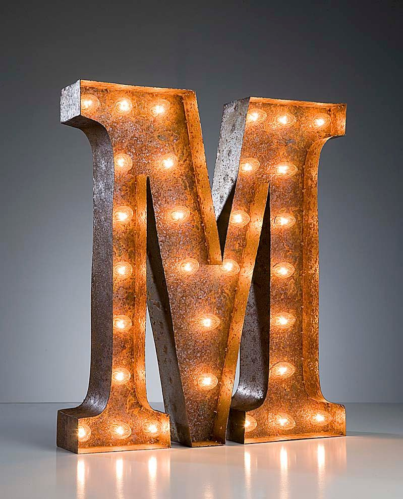 Industrial Style Light Up Letters: Pin By Simon Saleh On Best Of Industrial Chic
