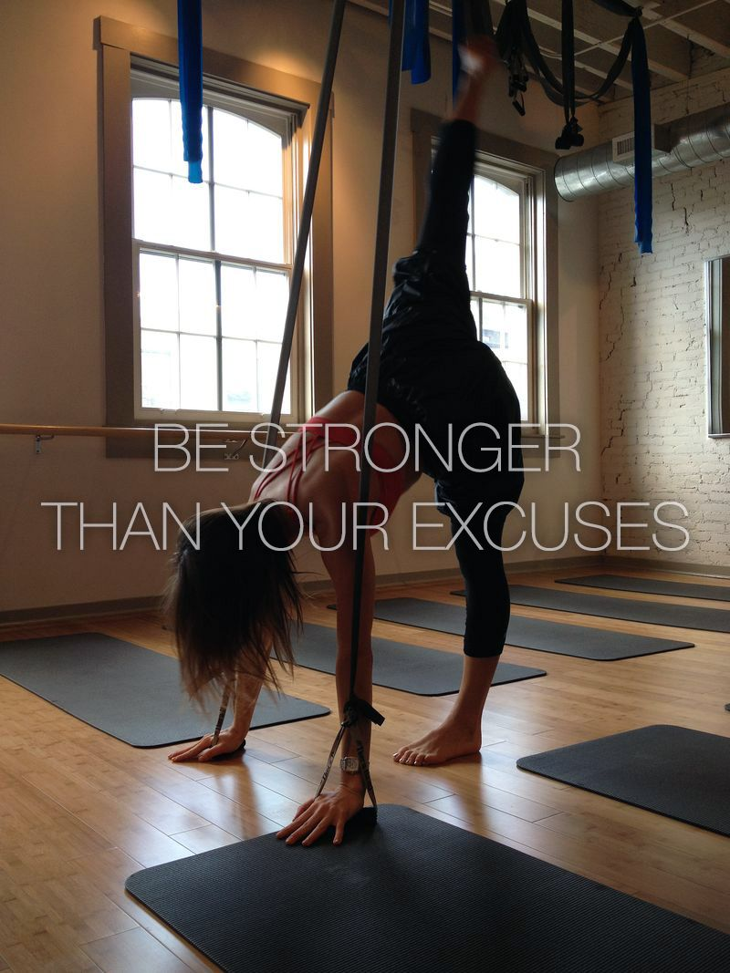 Be STRONGER than your EXCUSES! motivational fitness