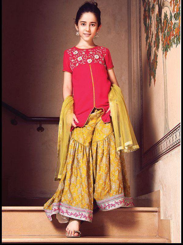 Kids Fancy Dresses 2016 in Pakistan  5593a575605