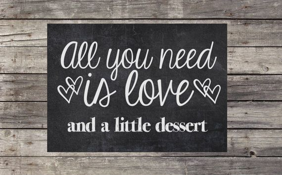All You Need Is Love Wedding Invitations: Instant Download, Printable