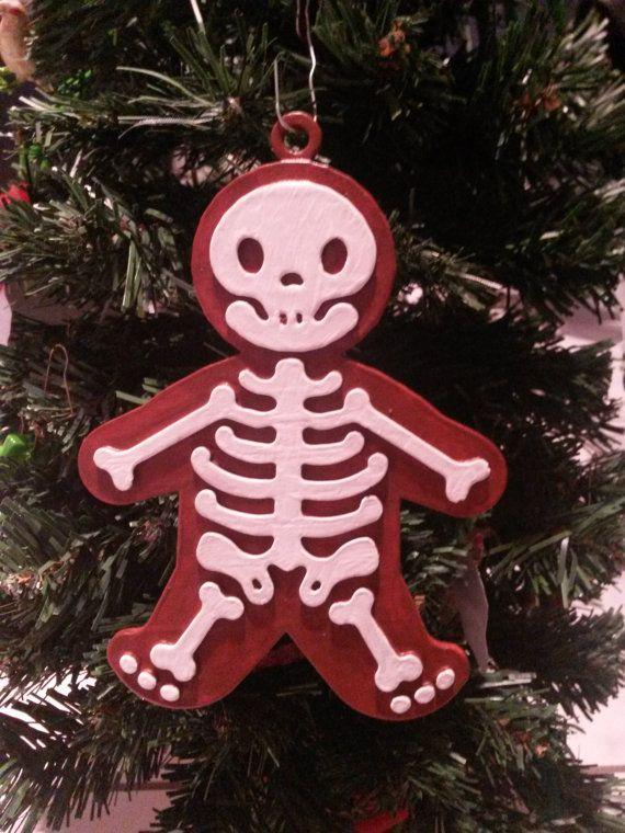 X Ray Gingerbread Man Christmas Ornament Nerdy Christmas Nerdy Christmas Ornaments Christmas Ornaments