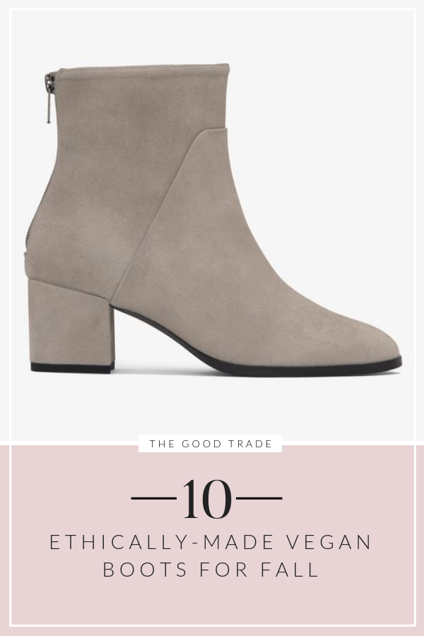 Ethically-Made Vegan Boots
