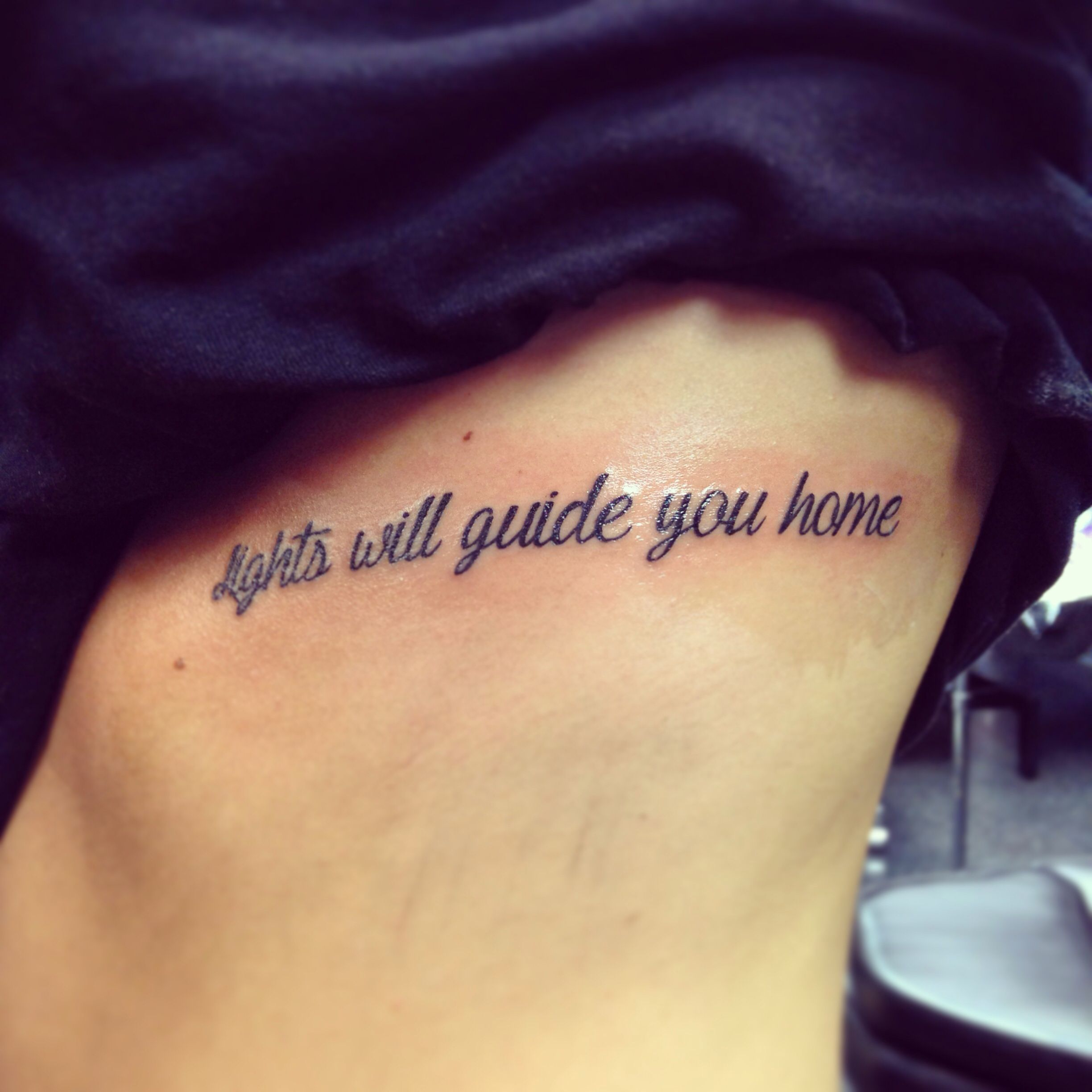5a52962ce From Fix You by Coldplay, my first tattoo, from May 2014 :) | Tattoo ...