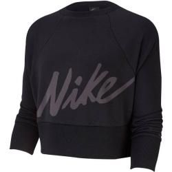 Nike Damen Sweatshirt Get Fit, Größe Xl In Black/white, Größe Xl In Black/white Nike #womenssweatshirts