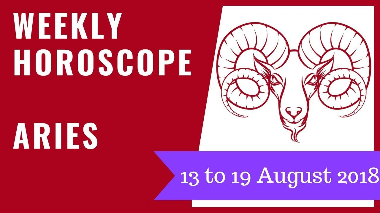 Aries Weekly Horoscopes Beginning Sunday