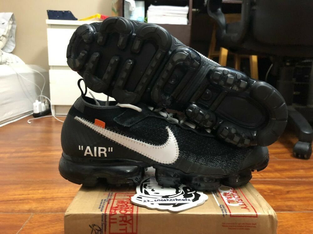 42285b1f5b3 eBay  Sponsored Nike Air Vapormax FK OFF-WHITE AA3831 001 size 11 100%  authentic