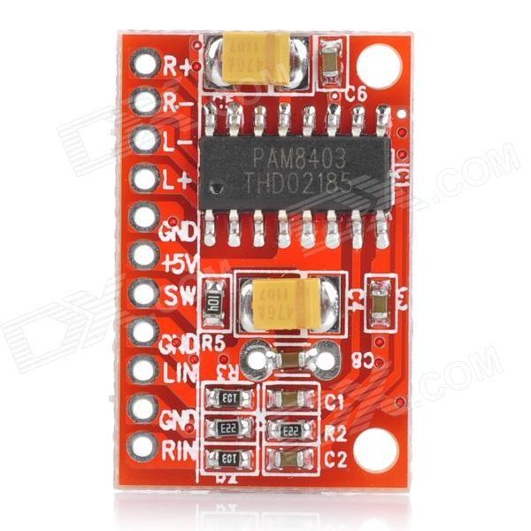 2-channel 3w Pam8403 Audio Amplifier Board