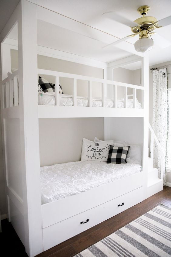 20 Cool Bunk Beds for the Coolest Siblings Ever Nursery Ideas