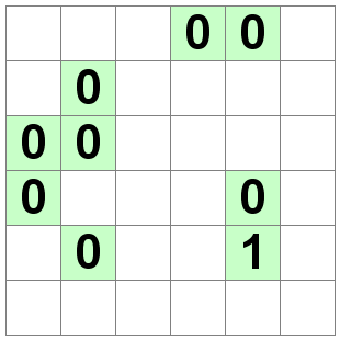Number Logic Puzzles: 20894 - Binary size 1