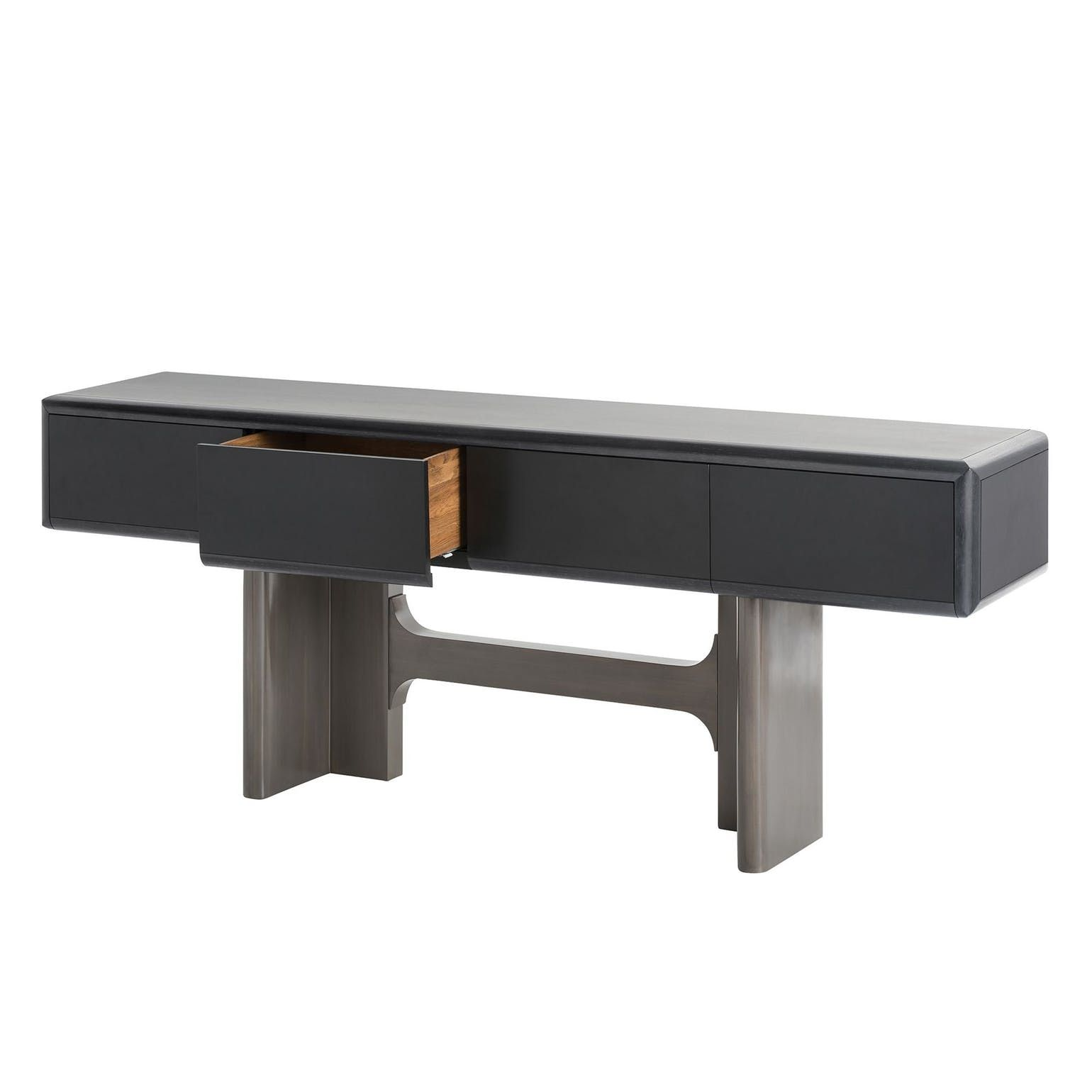 Barry Console By Jay Jeffers Modern Console Tables Console  # Muebles Megapark
