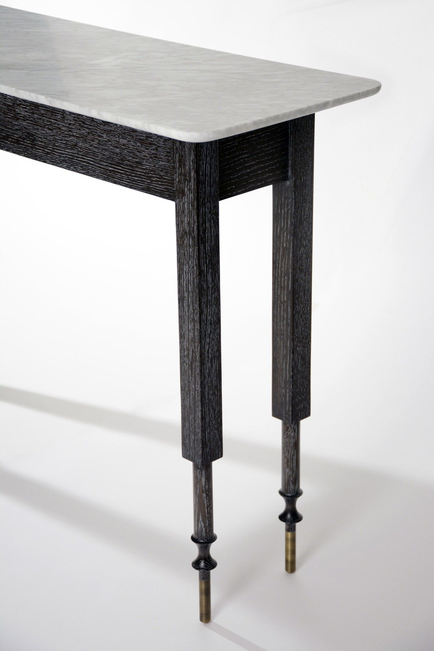 Erland console table matthew fairbank design new york for Design table new york