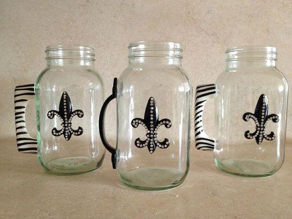 Customizable Mason Jar Mugs - So cute!!