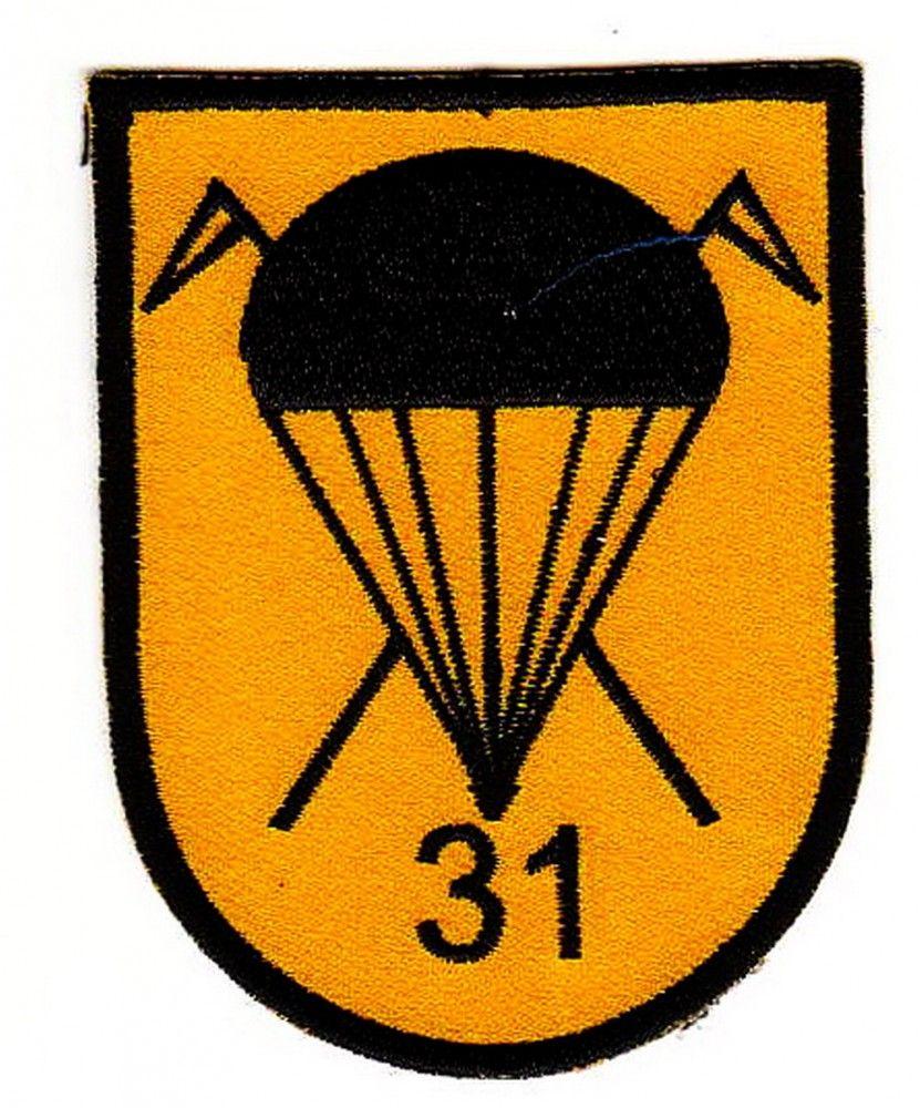 Bundeswehr Aufnaher Patch Fallschirmjager Spahzug Brigade 31 Fallschirmjager Bundeswehr Fallschirm