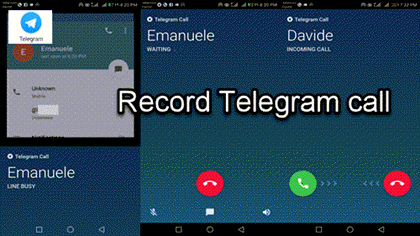 How To Record Telegram Call On Your Desktop Screen Recording Software Instant Messenger Voice Call