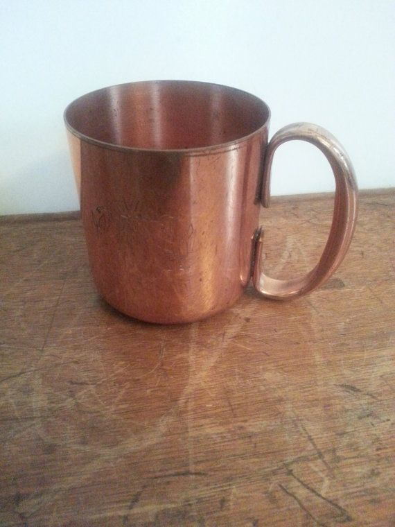 Copper Mug Stein Moscow Mule Vintage Copper Cup 10 oz ...
