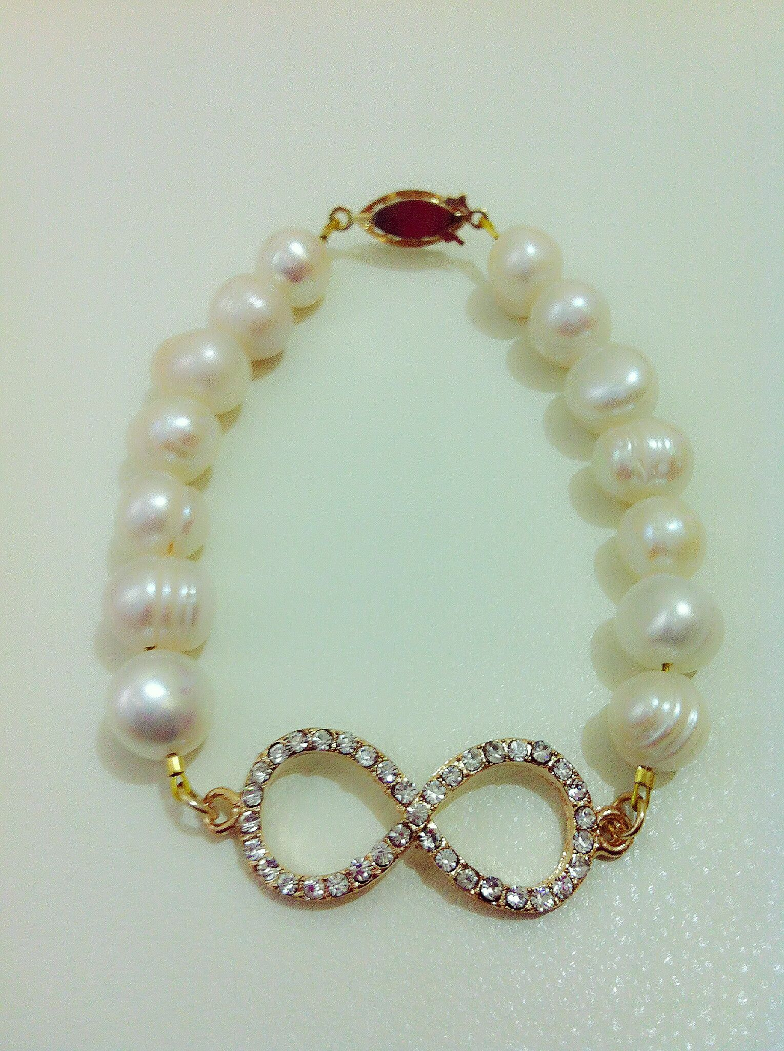 Fresh Water Pearls/Infinity