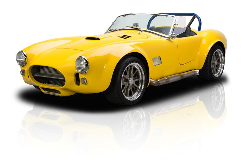 1965 Shelby Cobra With 505 Hp Twin Turbocharged Windsor V8 1965