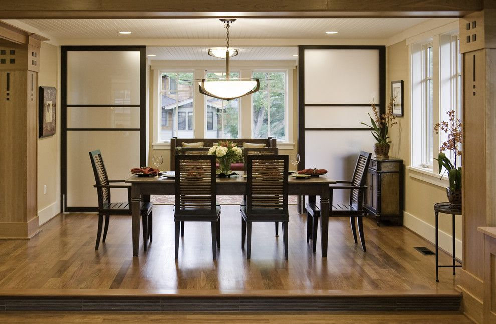 Room Divider Screens Dining Contemporary With Baseboards Beadboard Bowl Chandelier