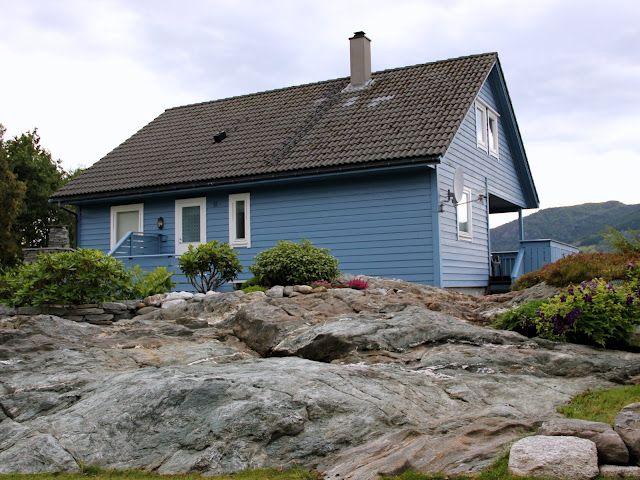 Det blå huset: Ikkje så gale.....