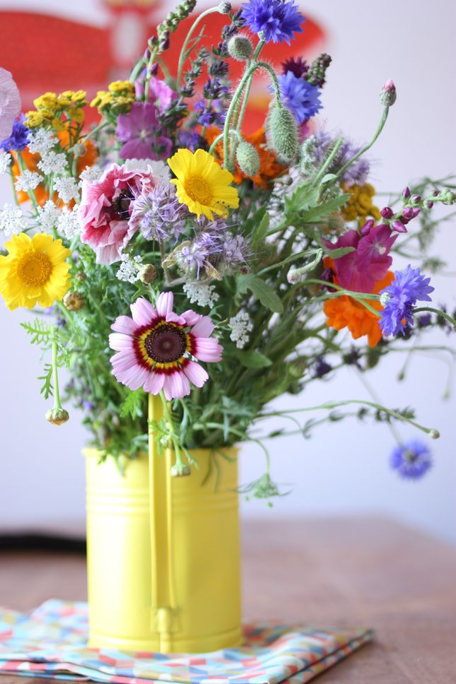 Happy Interior Blog: Happy Guest: A Happy Bouquet Of Flowers