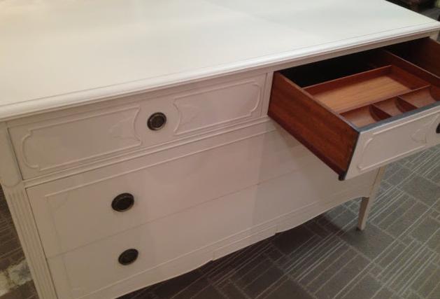 Grey Antique Shabby chic dresser $499 - Crystal Lake http://furnishly.com/grey-antique-shabby-chic-dresser.html