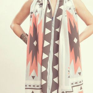 Four Directions Scarf Pastel, 120€,  by Grace Design !!