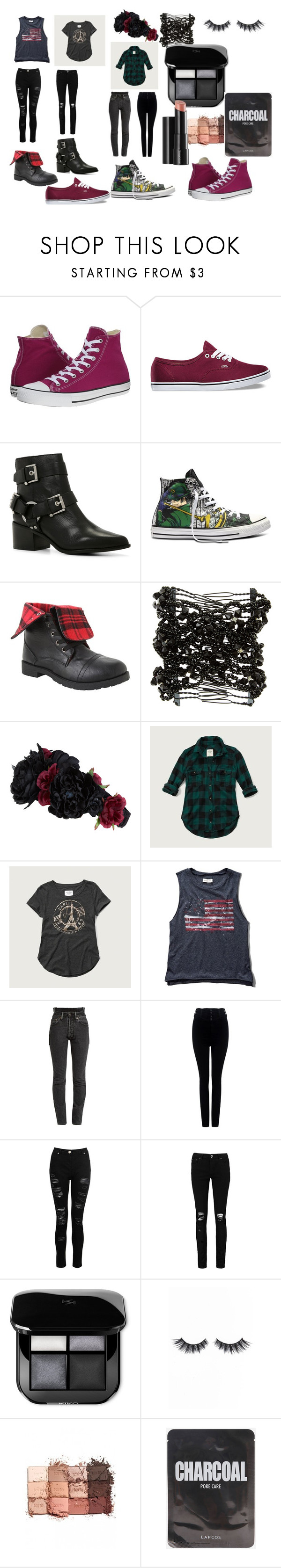 """""""Untitled #282"""" by toxicupcakes on Polyvore featuring Converse, Vans, ALDO, Accessorize, Abercrombie & Fitch, Vetements, Citizens of Humanity, Dorothy Perkins, Boohoo and Violet Voss"""