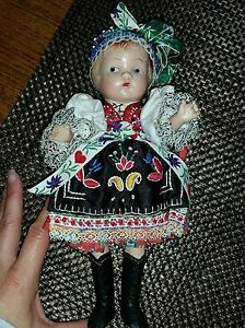 very-old-antique-doll