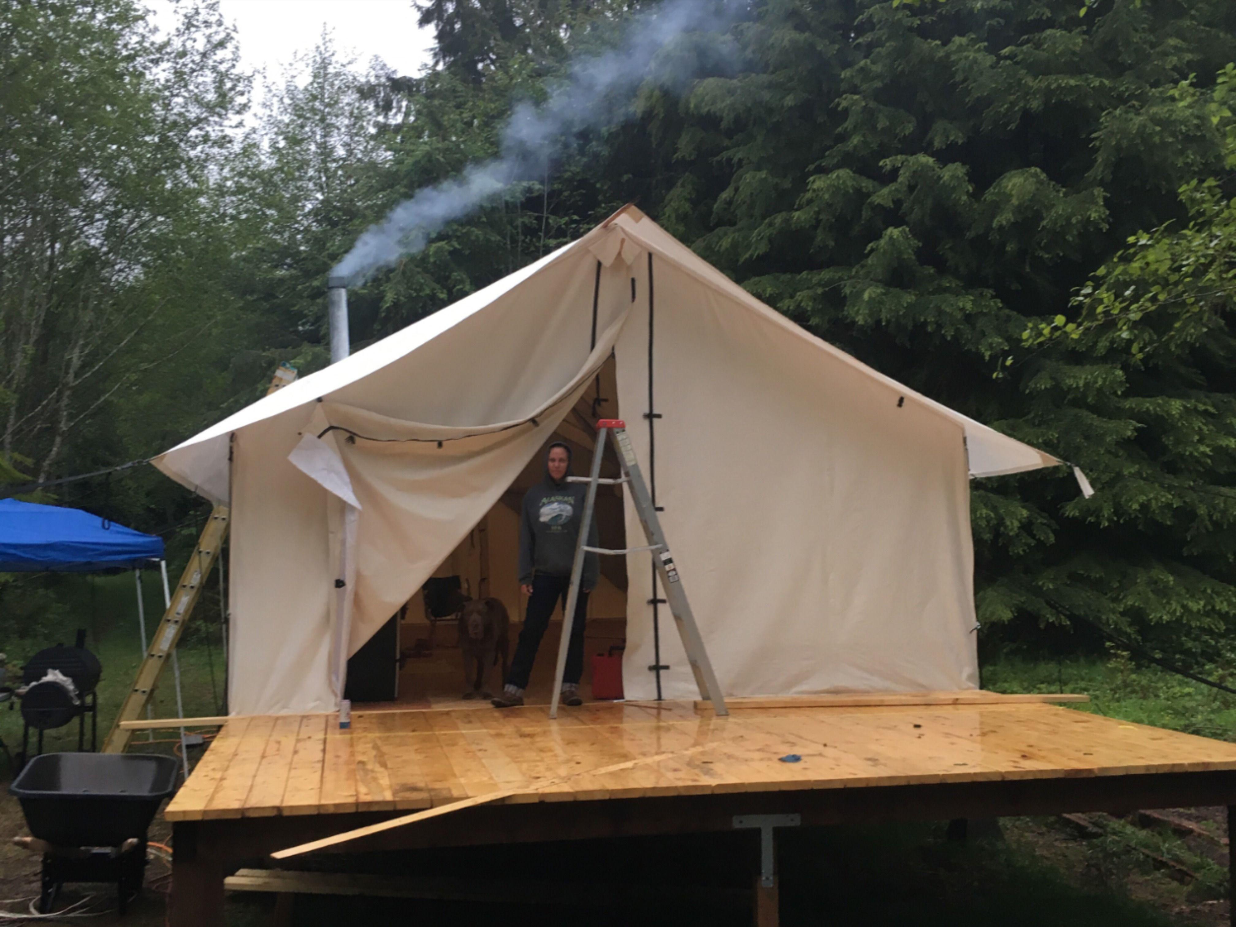 Wall Tent Floor Ideas You'll Love