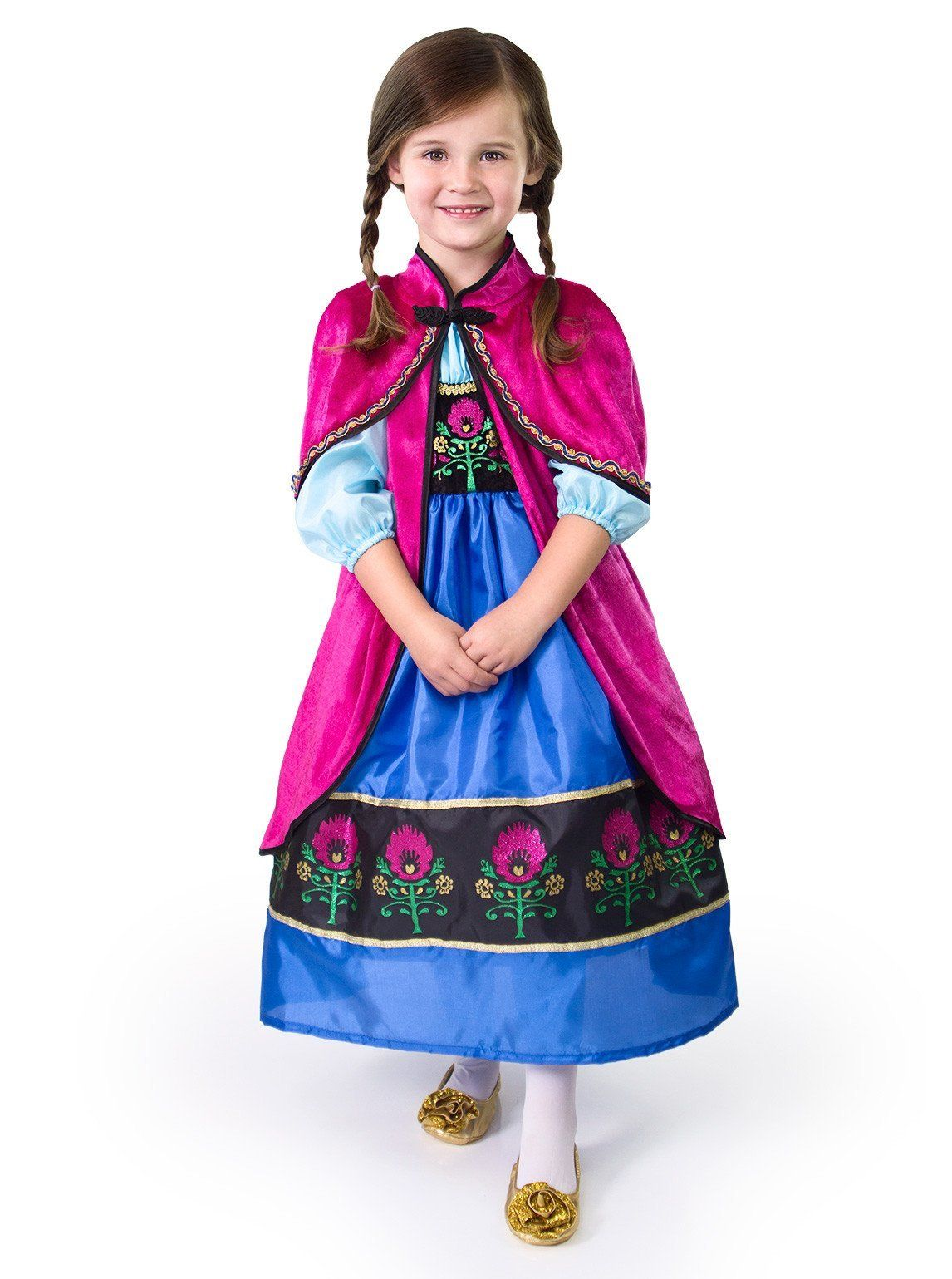 Little Adventures Traditional Scandinavian Princess Girls Costume Large 57 Yrs Much More Info Could Be In 2020 Dress Up Costumes Princess Dress Up Princess Dress