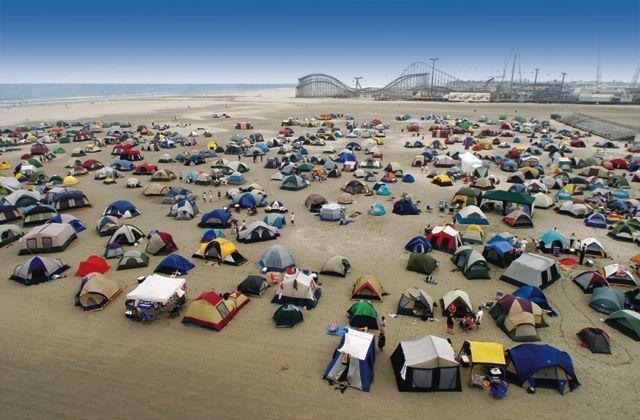 beach camping // Wildwood! | CampTastic | Camping 101 ...