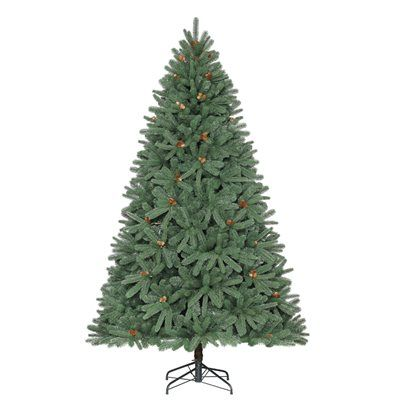 Holiday Living 7.5-ft Fleetwood Pine Artificial Christmas ...