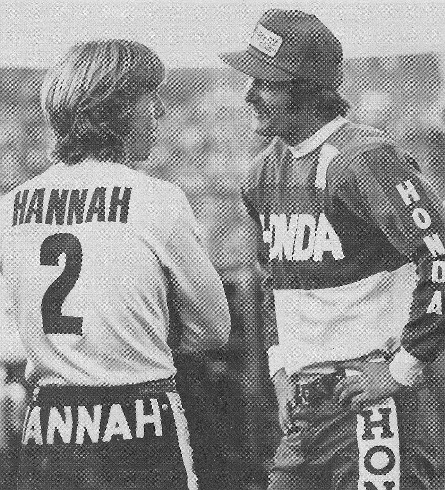 1977 Bob Hannah and Jim Pomeroy.