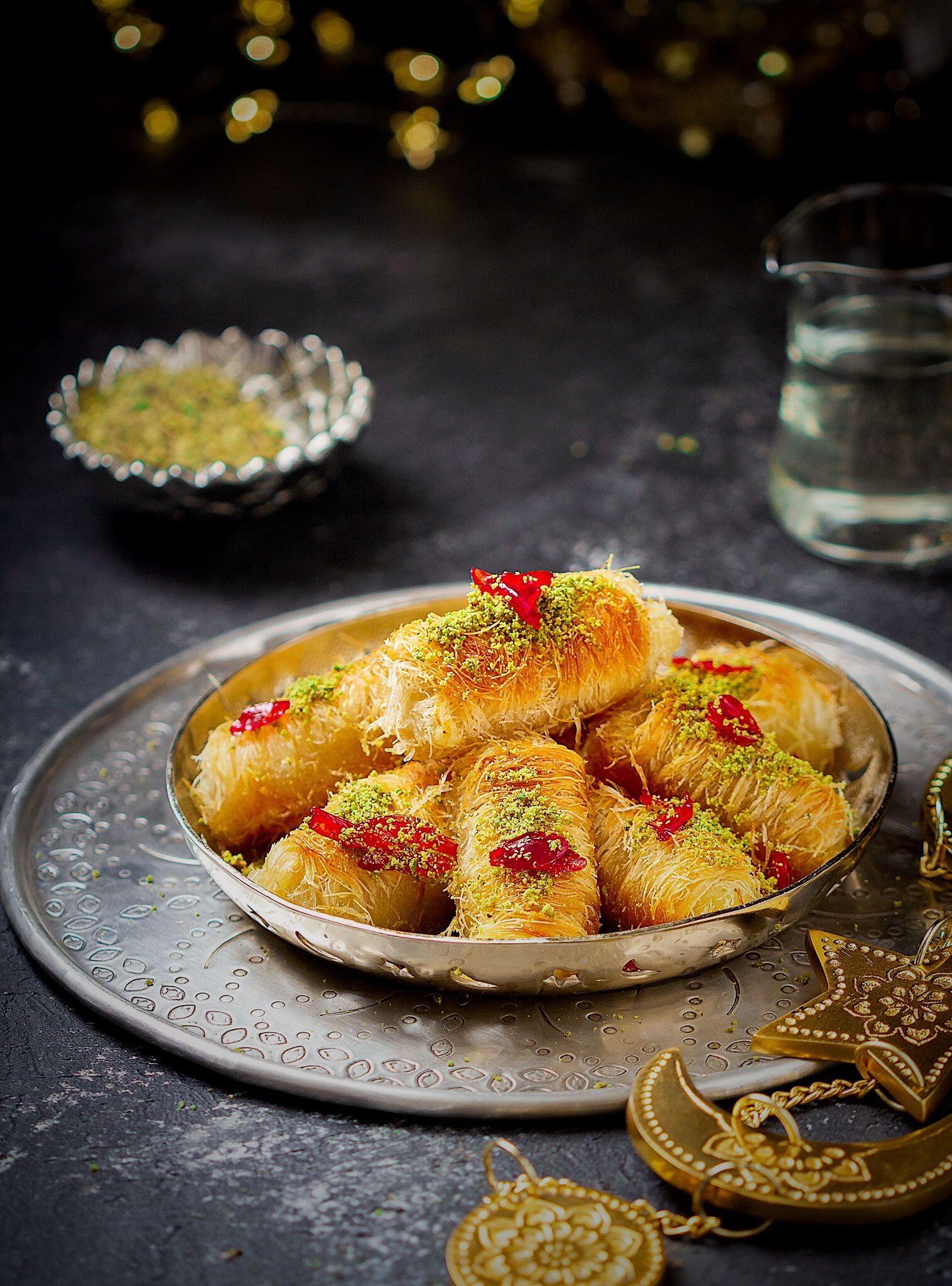 Kunafa Rolls Cake Recipes Recipes Cuisine