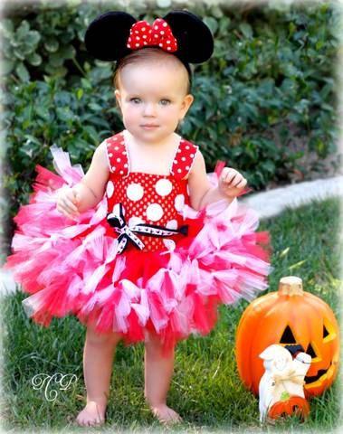 Minnie Mouse Tutu Dress 12 to 2 Toddler by lovebug11 on Etsy Tutus - halloween tutu ideas