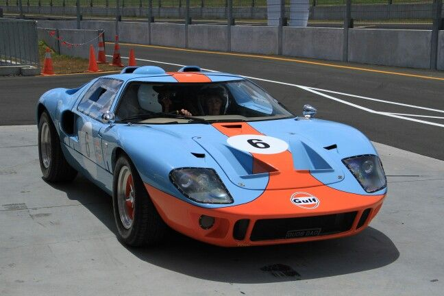 Ford Gt  Replica In Gulf Livery Hampton Downs Nz